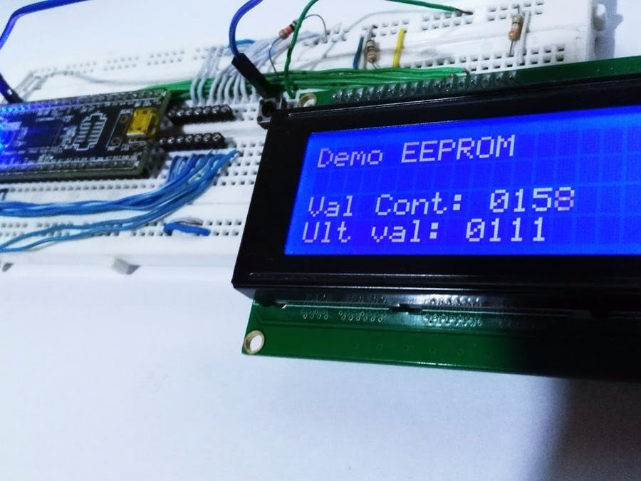 EEPROM: How To Read/Write Data With PSoC5 LP - Hackster io