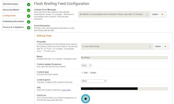 configuration - details