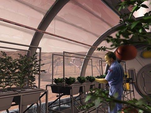 cheap colonization of Mars