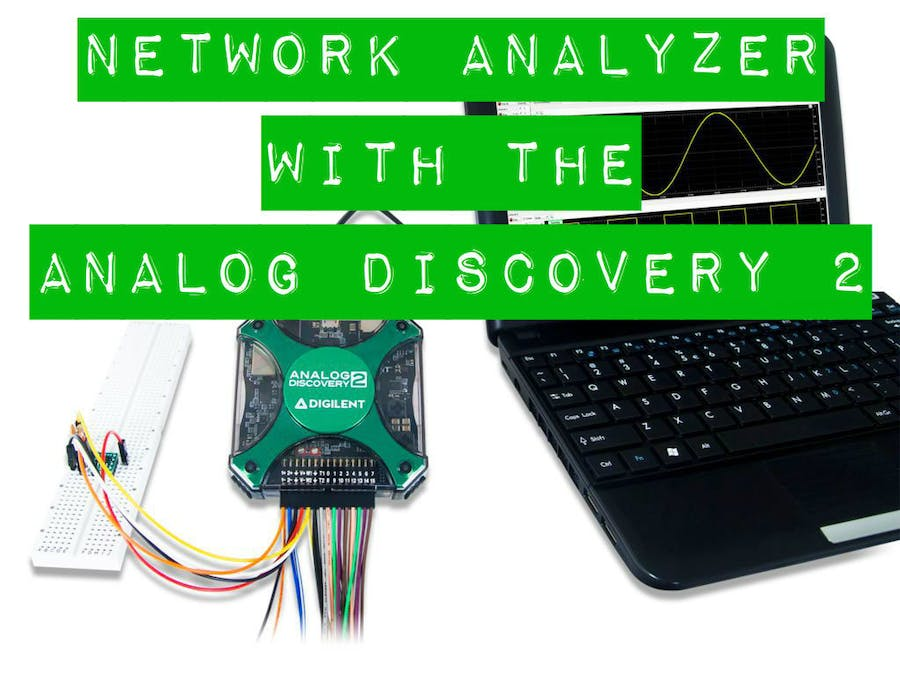 Using the Network Analyzer with the Analog Discovery 2