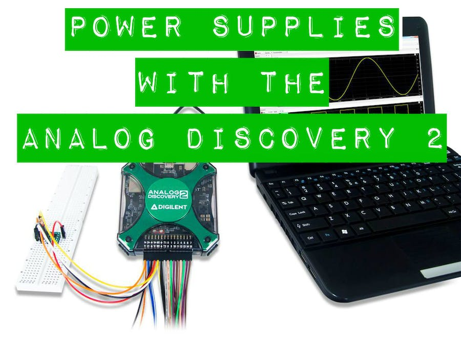 Using The Power Supplies With The Analog Discovery 2