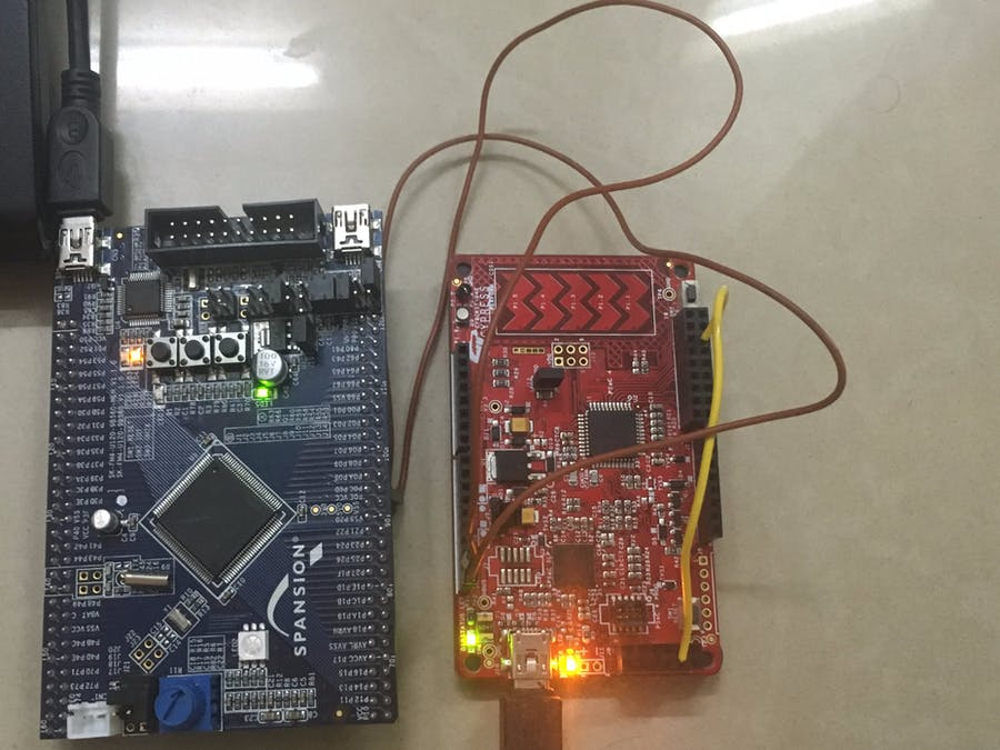 I2C Communication Between FM4 and PSoC 4 - Hackster io