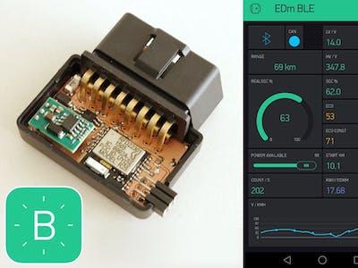 EDm BLE - Monitor your EV