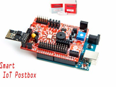 Smart IoT Postbox with the idIoTware Shield