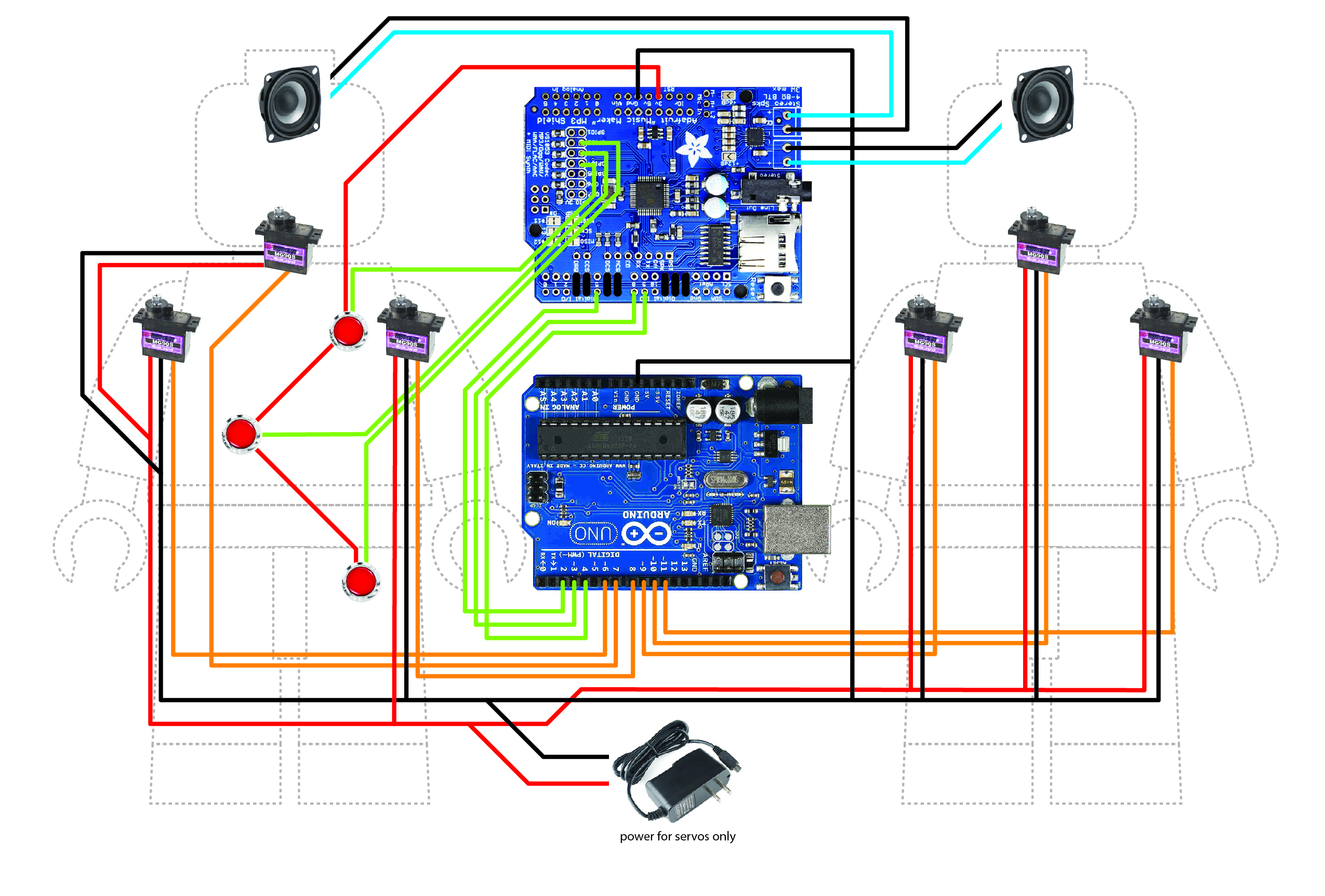 Giant Animatronics Lego Minfig Operation Game Circuit Diagram 8yl6mprej8nwsi6j6ekw