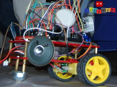 Talking Robot Based on Arduino