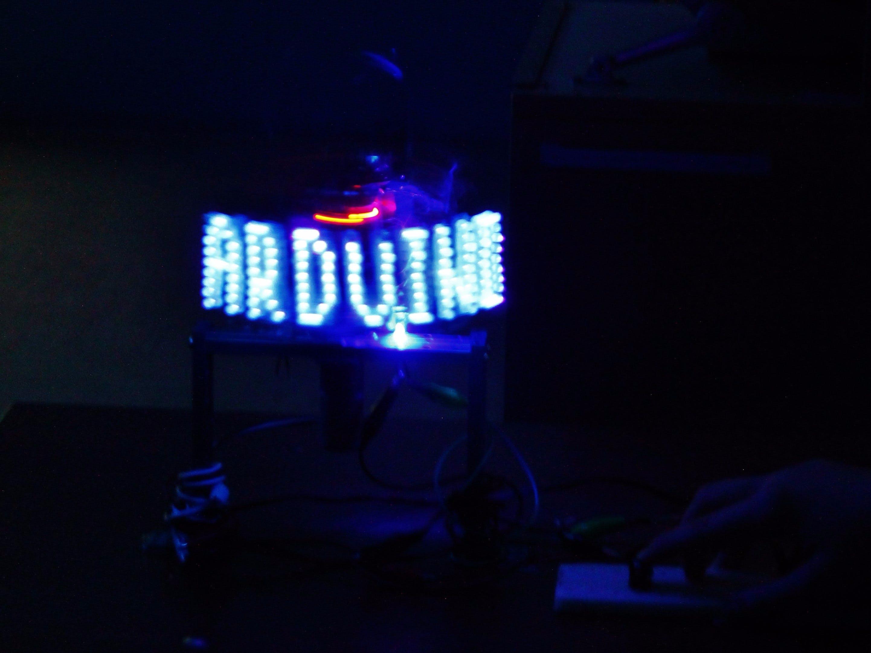 LED Rotation Display