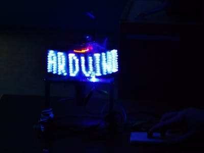 LED Rotation Display