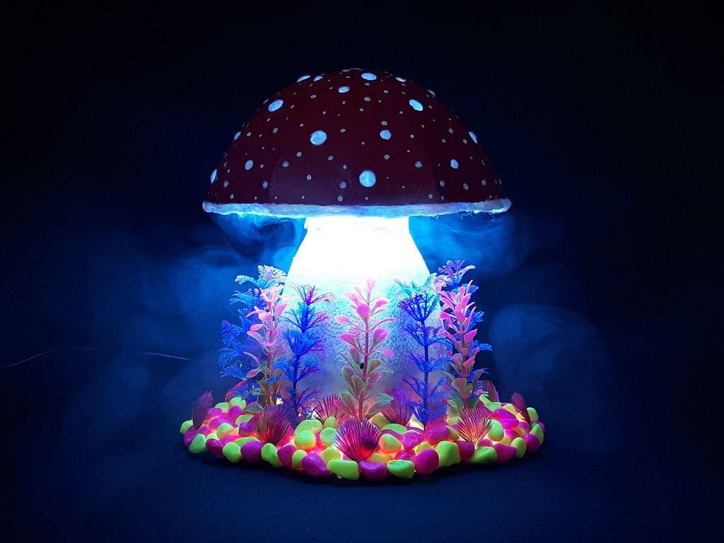 Magic Mushroom Lamp
