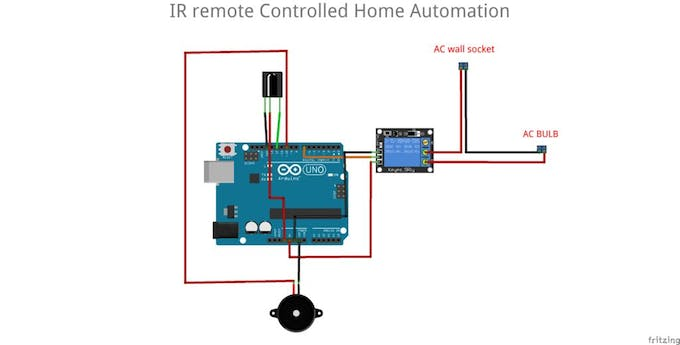 IR Remote Controlled Home Automation - Arduino Project Hub