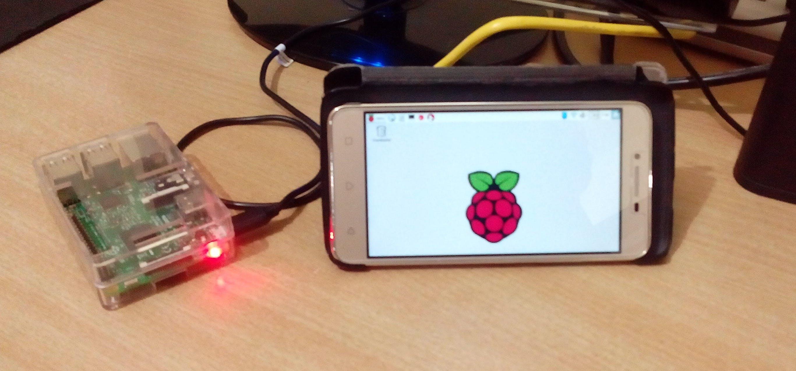 Raspberry Pi Runing on Phone