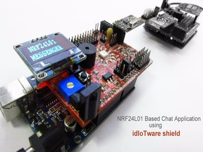 Chat Application Using Mesh Radios