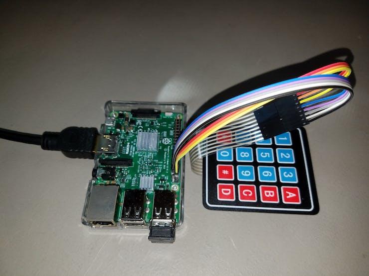 4x4 Matrix Keypad with a Raspberry Pi and C# - Hackster io