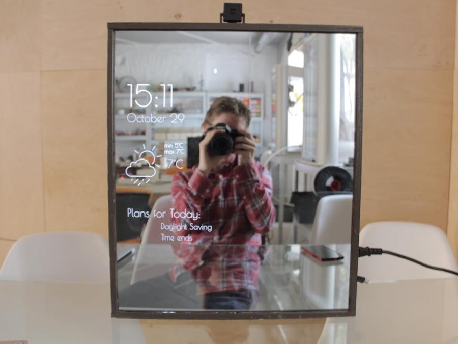 Magic Mirror with Stylist