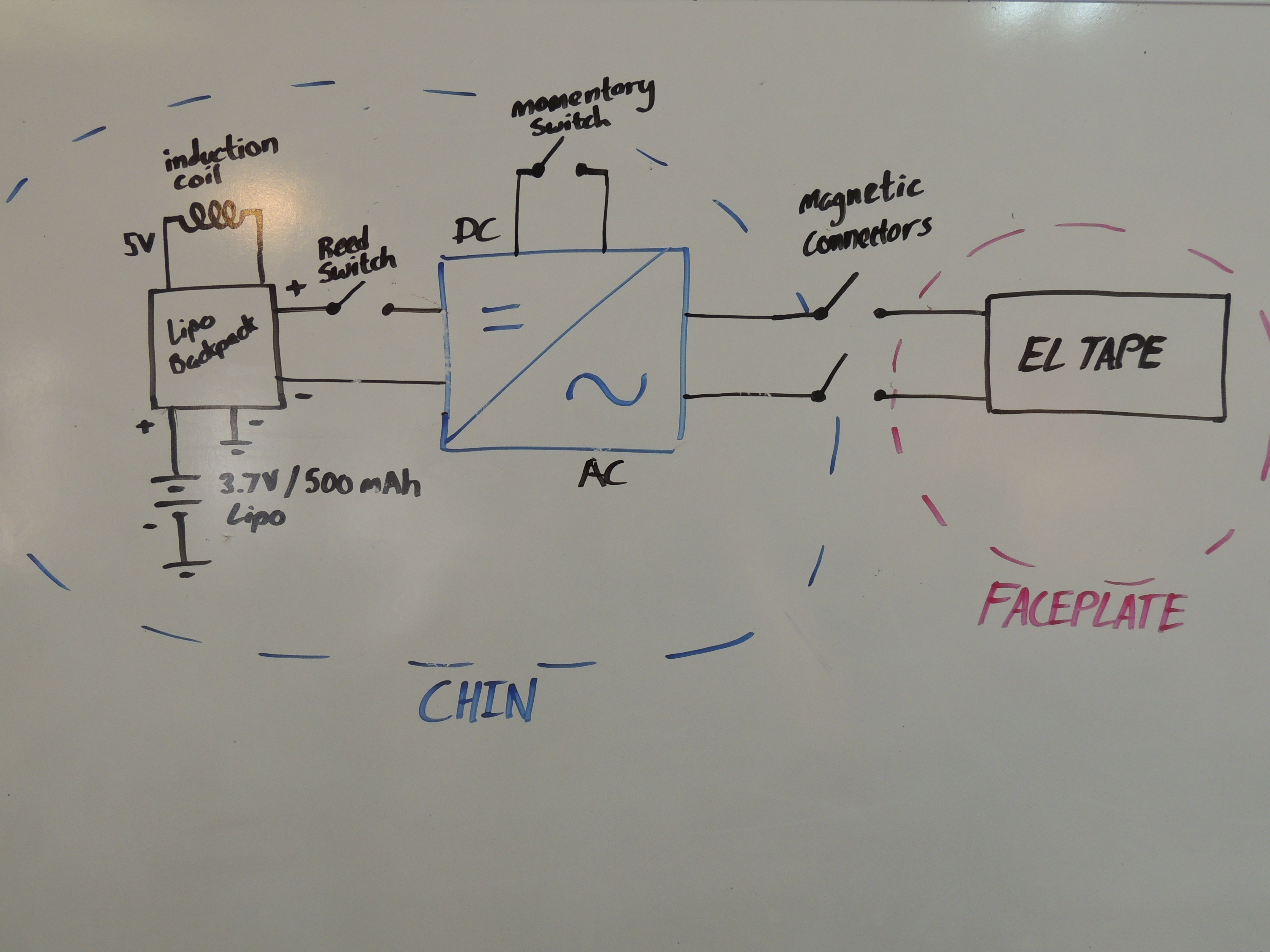Exelent El Wire Inverter Schematic Component - Electrical and Wiring ...