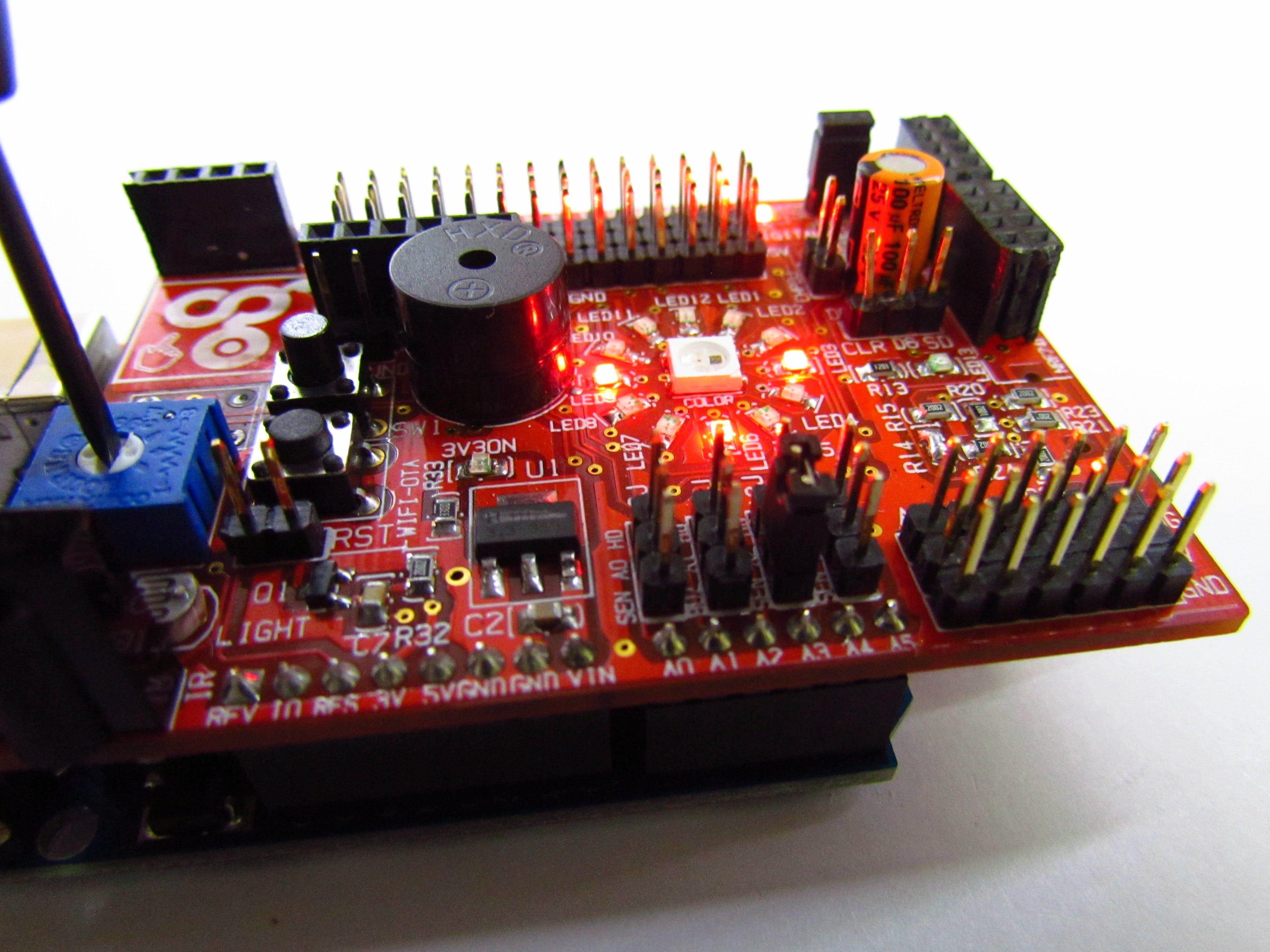 Pulse Width Modulation Using a Potentiometer