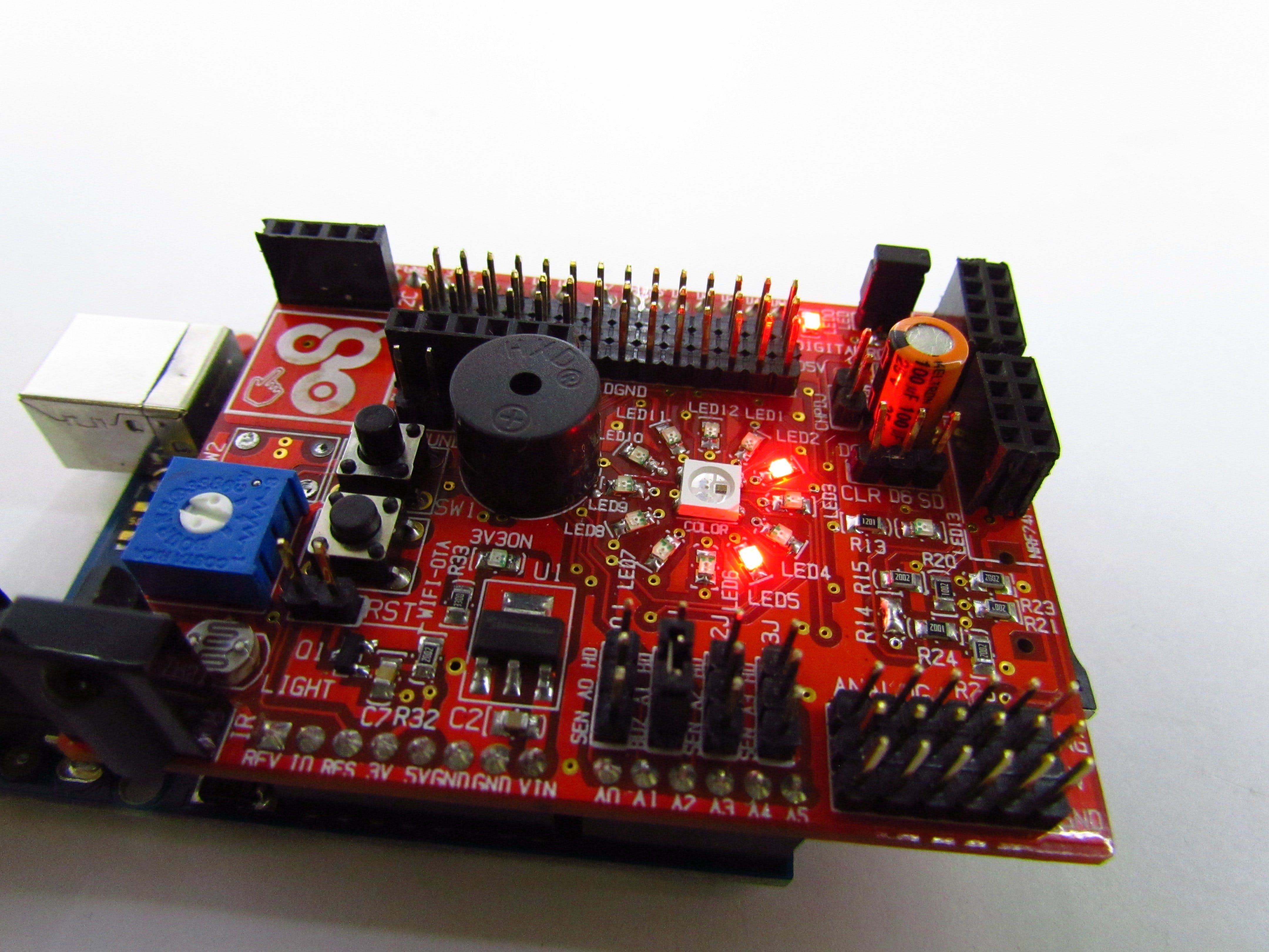 LED Ring Real Time Clock
