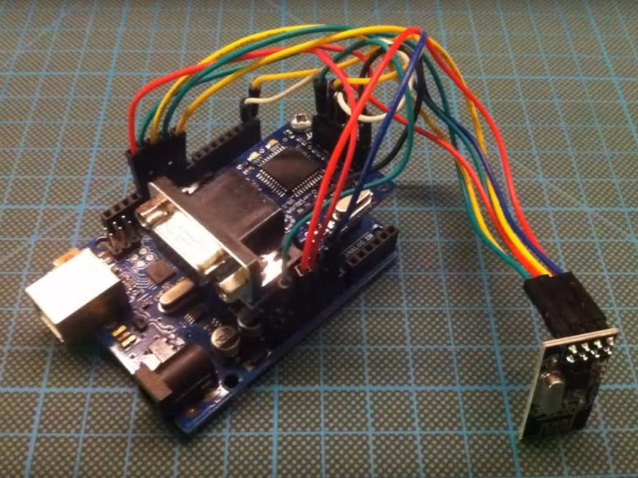 Arduino to VGA - Wireless Data Receiver