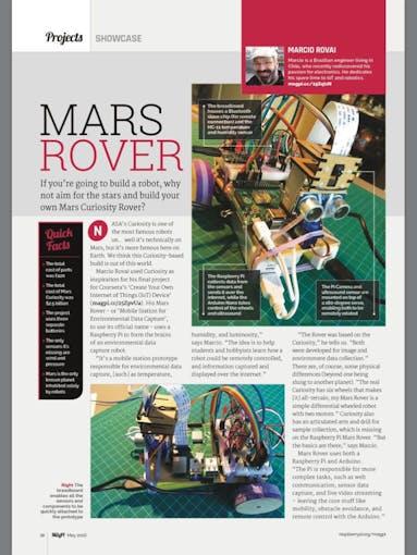 mars rover arduino code - photo #28