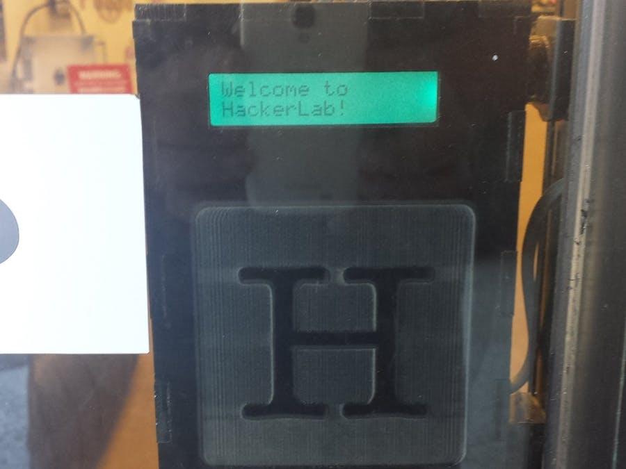 RFID Front Door Access Control