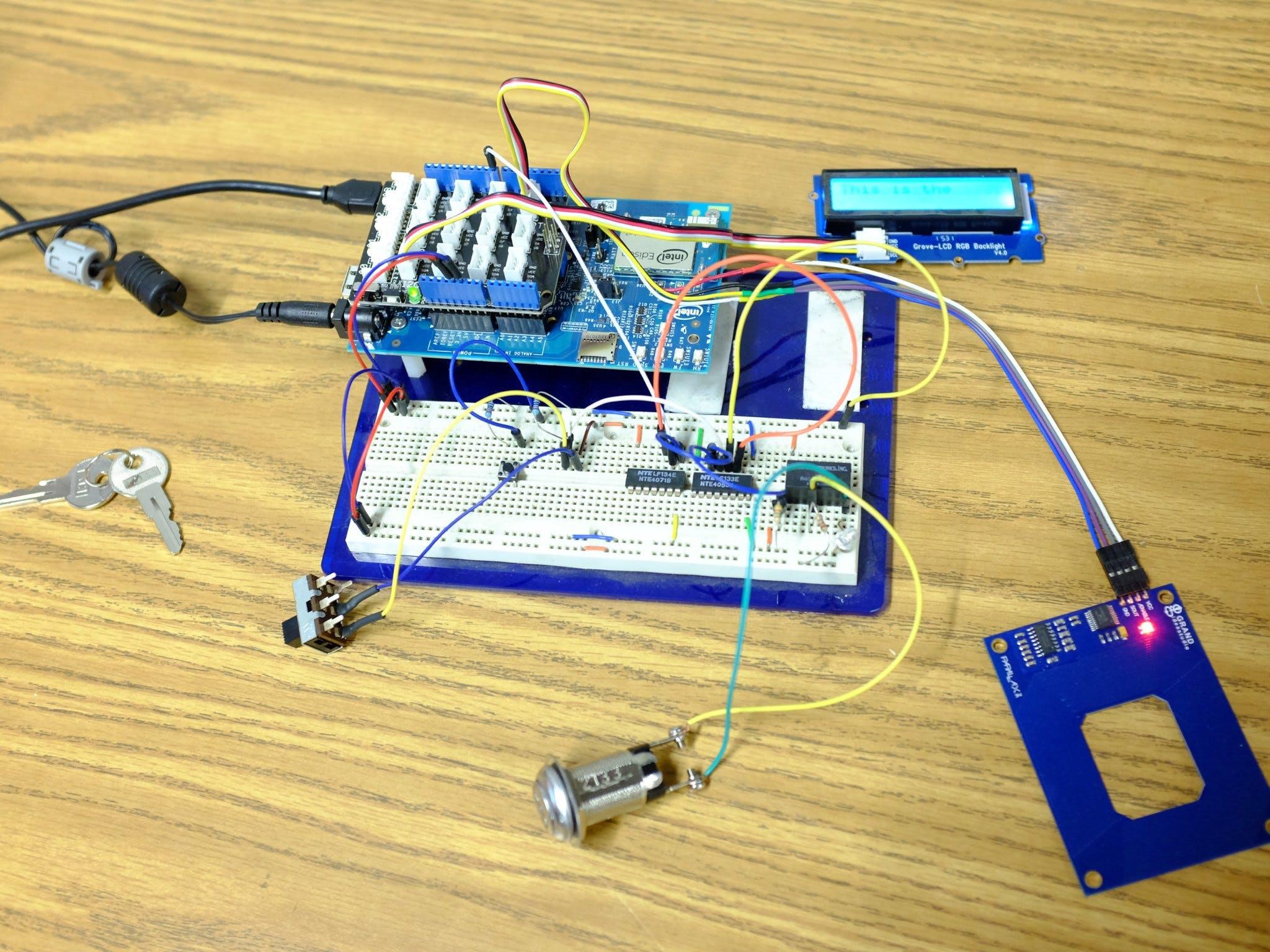 RFID Machine Access Control System