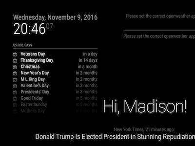Magic Mirror Emails