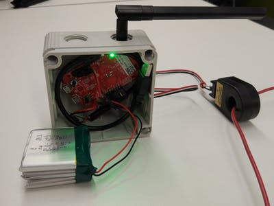MQTT and 6LoWPAN Current Datalogger