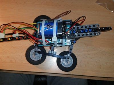 Easy Spectrum Display Arduino and Lego