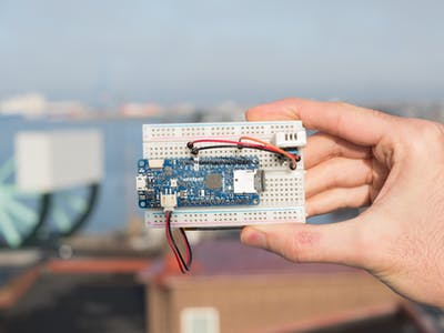 MKR Zero Weather Data Logger