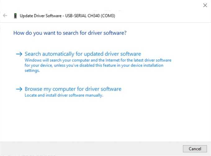 Windows has a driver in its database.
