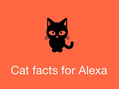 Cat facts for Alexa