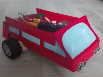 Remote-controlled robot with an Android App