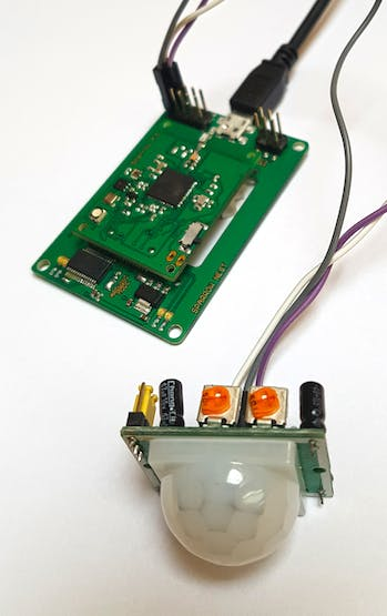 Remote Wireless Sensor Node