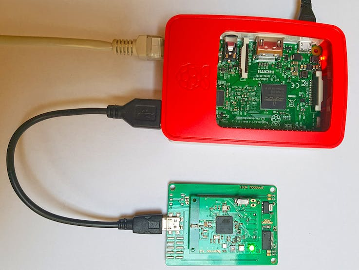 RaspberryPi and Local Node