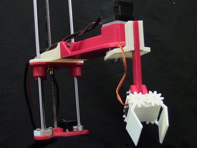 ShopArm: 3D Printed Assistant Robot Arm