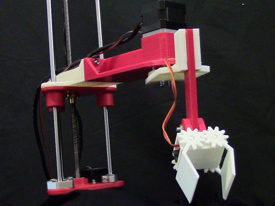 ShopArm: 3D Printed Assistant Robot Arm