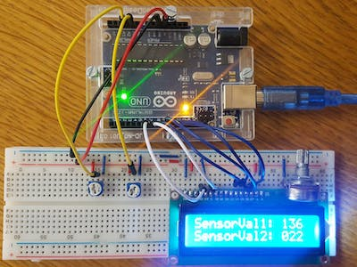 Displaying Sensor Values on LCD