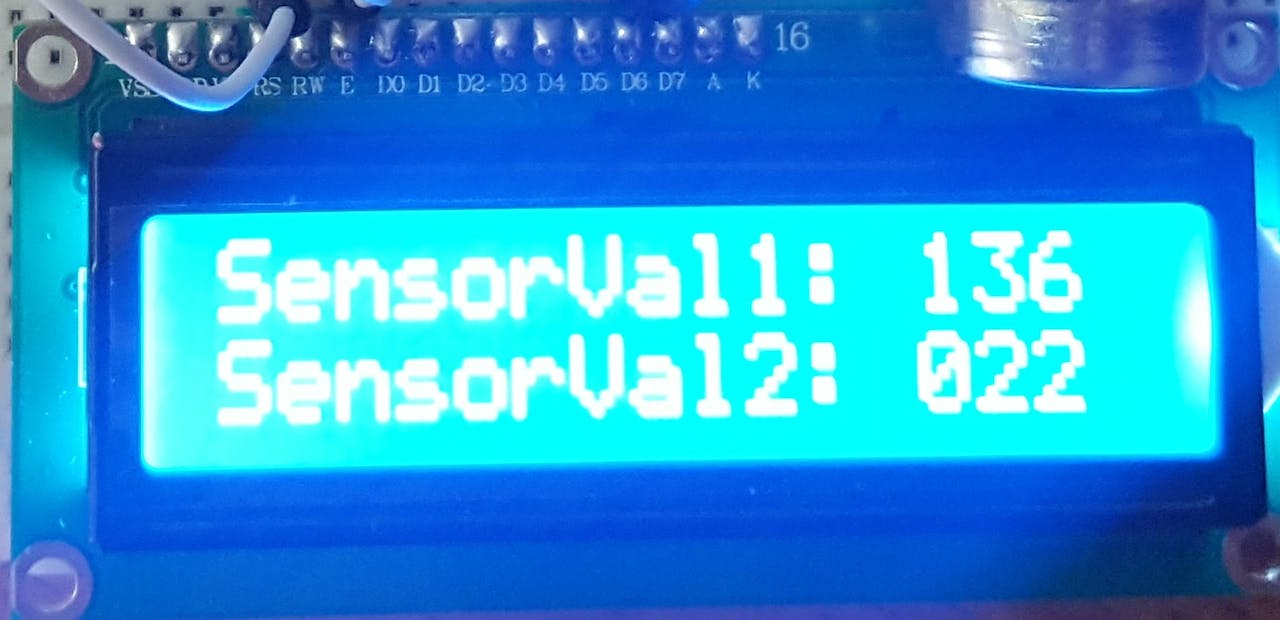 Displaying Sensor Values On Lcd Arduino Project Hub Power Tilt And Trim Wiring Diagram