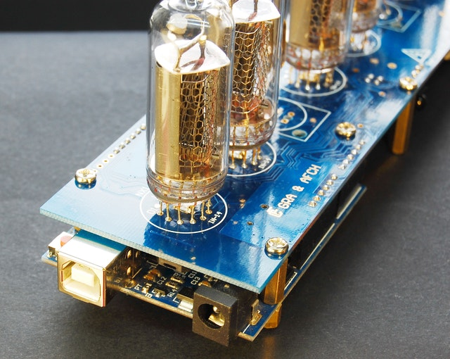 Arduino shield nixie tubes clock in project hub