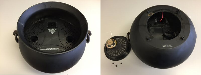 Cauldron with Its Guts Ripped Out