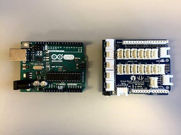 Arduino Uno and Grove Shield