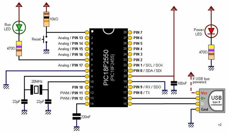 Pinguino Project: A PIC Microcontroller Based Arduino - Hackster io
