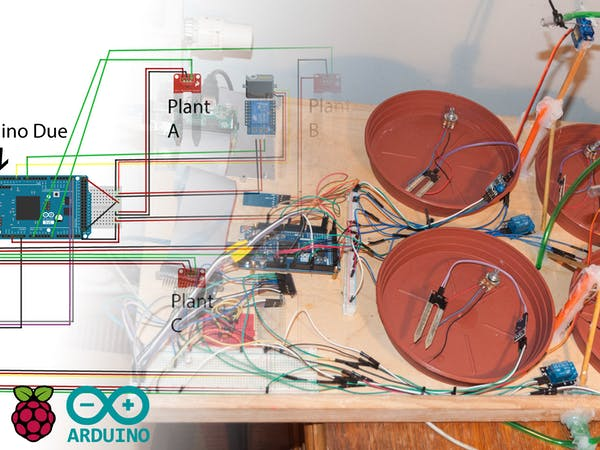 Plant Monitoring System : Windows iot plant monitoring system hackster