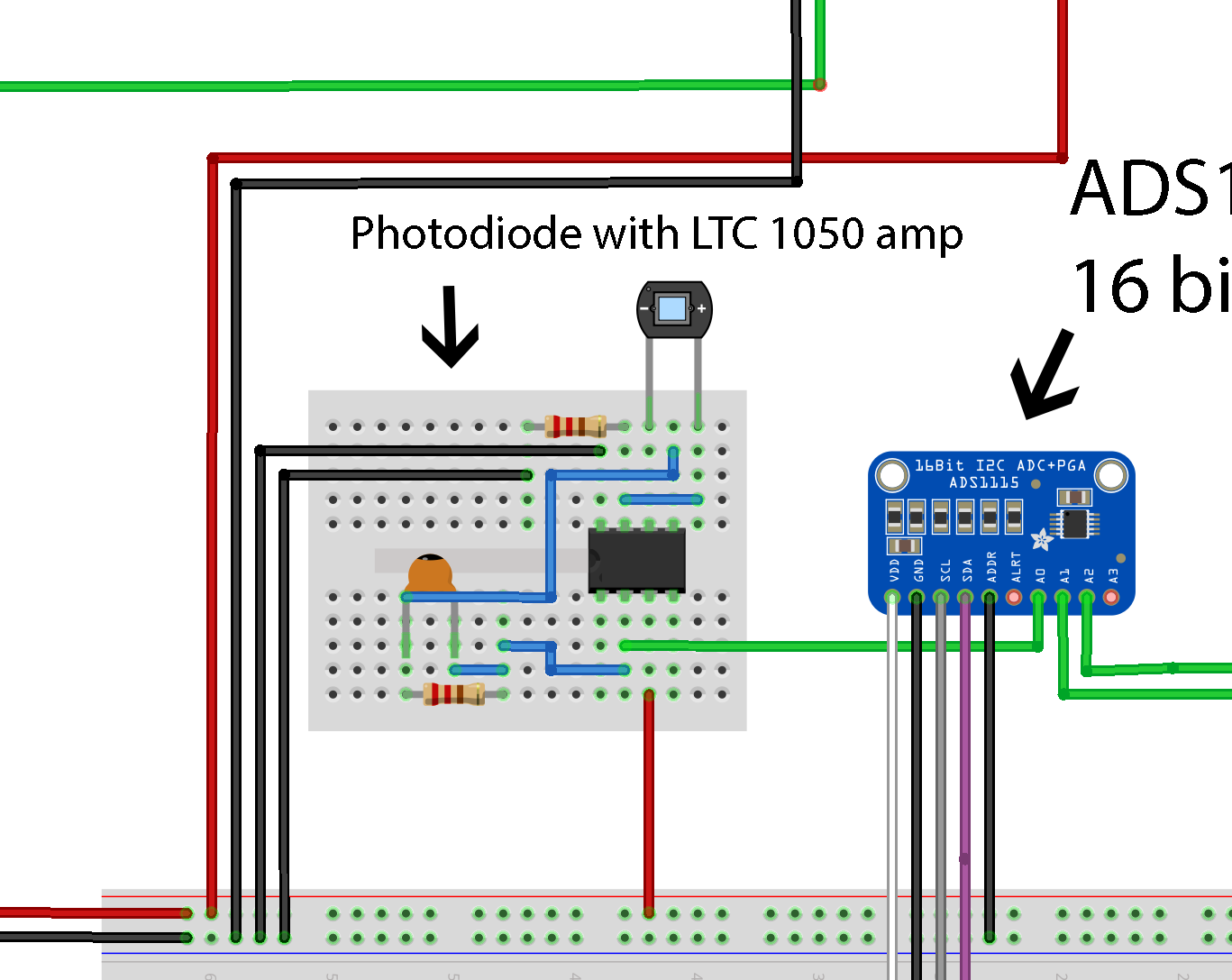 Photodiode Circuit Arduino Vebry Easy Steps For Making A Line Using Infrared Led Ardumoto And Build Download