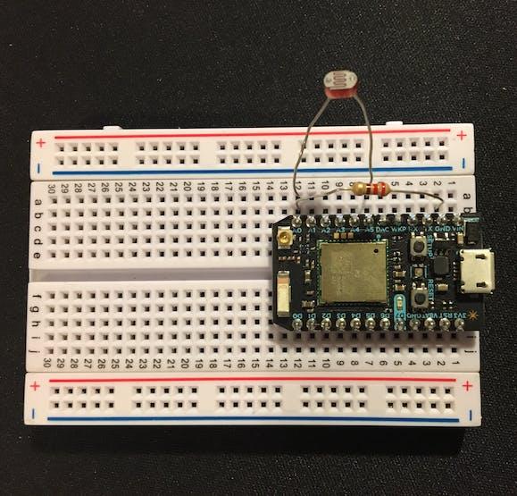 Simple Photo Resistor Circuit