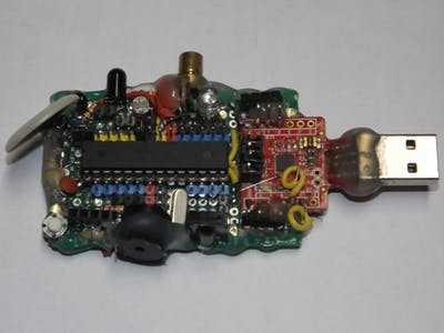 CyDuino : An Arduino Dev Board with Lots of Goodies