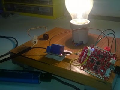 Sparkfun with Lamp (220V)