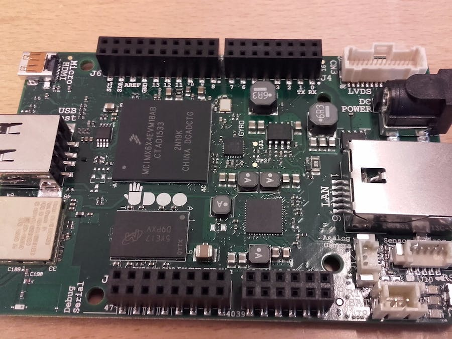 Udoo Neo as a computer using serial communication
