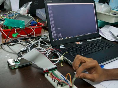 Resistive-sensor Measurement using Current Source