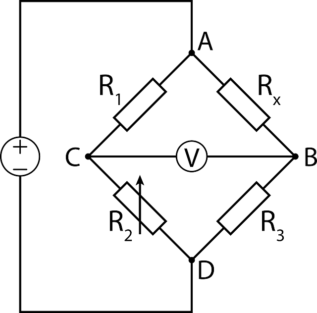 Traditional Wheatstone bridge